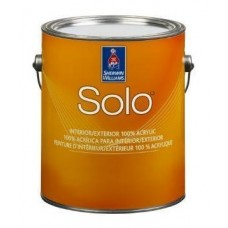 Solo 100% Acrylic Latex Paint Flat
