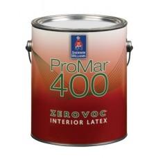 PROMAR 400 Interior Latex Flat  винил-акриловая краска на водной основе (3,8л)