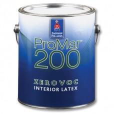 ProMar 200 Interior Latex Flat латексная краска для стен и потолков