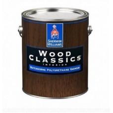 Глянцевый водный лак для дерева Wood Classics Waterborne Polyurethane Varnish