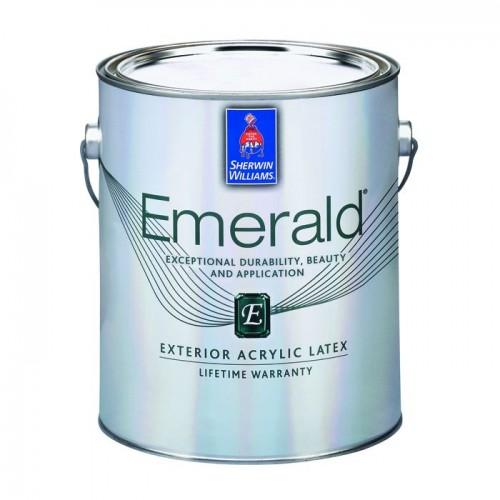 Акриловая латексная матовая краска Emerald Exterior Acrylic Latex Paint