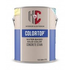 Водная пропитка H&C COLORTOP Water-Based Solid Color Concrete Stain