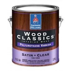Полуматовый полиуретановый лак для дерева Wood Classics Polyurethane Varnish