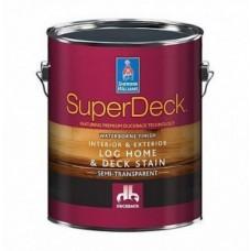 Пропитка для защиты деревянных фасадов  SuperDeck Log Home & Deck Stain